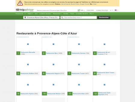 Les 10 meilleurs restaurants à Provence-Alpes...