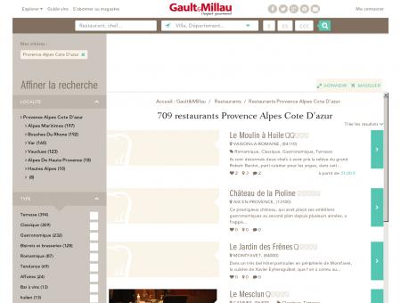 Restaurants Provence Alpes Cote D'azur -...