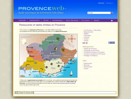 Restaurants de Provence Alpes et Côte d'Azur ...
