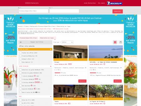 Réservation restaurants - Provence-Alpes-Côte...