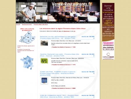 Vente - Restaurants : Annonces en Provence...