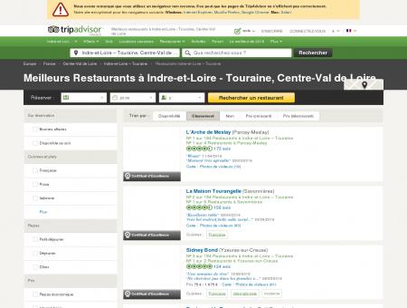 Les 10 meilleurs restaurants à Indre-et-Loire ...