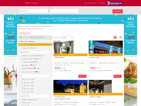 Restaurants Indre-et-Loire - MICHELIN...