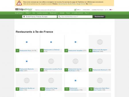 Les 10 meilleurs restaurants à Île-de-France -...