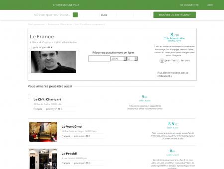 Restaurant Le France | le-france.lafourchette.com
