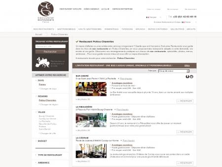 Restaurant Poitou-Charentes - Exclusive...