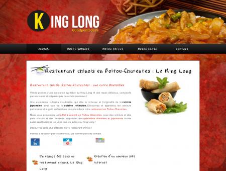 Restaurant Poitou-Charentes  King Long