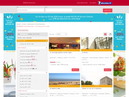 Restaurants Poitou-Charentes - MICHELIN...