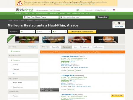 Les 10 meilleurs restaurants à Haut-Rhin -...
