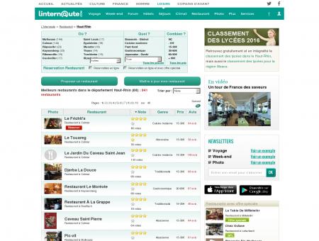 Restaurant Haut-rhin : Le guide des meilleurs...