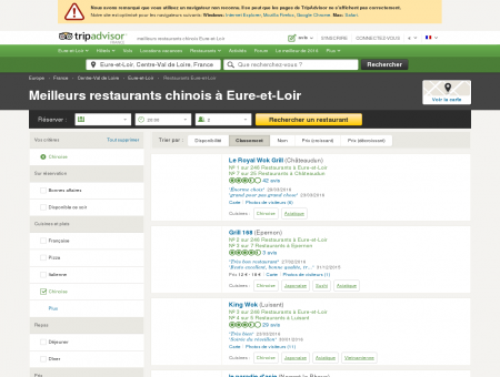 Eure-et-Loir : Les 5 meilleurs restaurants...
