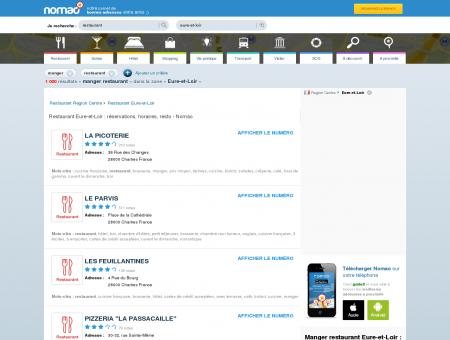 Restaurant Eure-et-Loir : réservations,...
