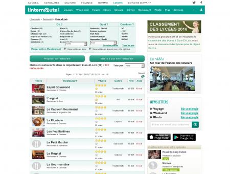 Restaurant Eure-et-loir : Le guide des...