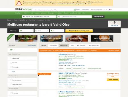Les 10 meilleurs restaurants bars Val-d'Oise -...