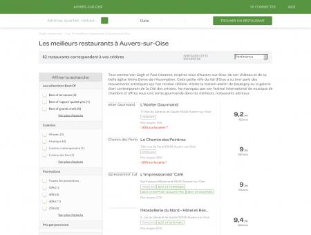 Les 10 meilleurs restaurants à Auvers-sur-Oise ...