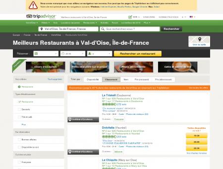 Les 10 meilleurs restaurants à Val-d'Oise -...