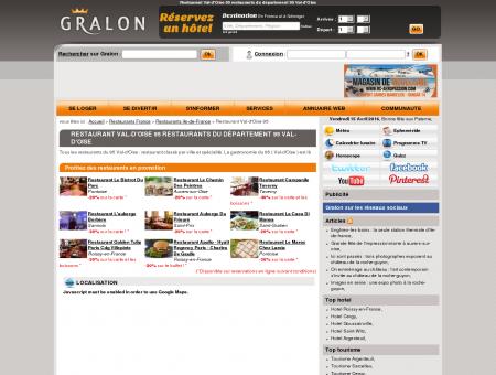 Restaurant Val-d'Oise 95 restaurants du...