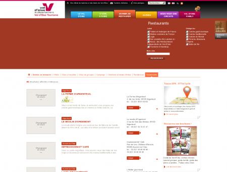 Restaurants - Tourisme Val d'Oise (95)