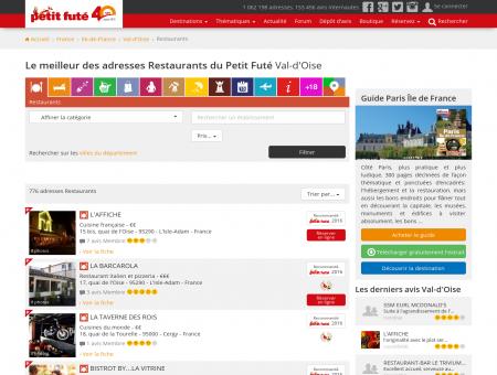 Restaurants Val-d'Oise, le meilleur des...