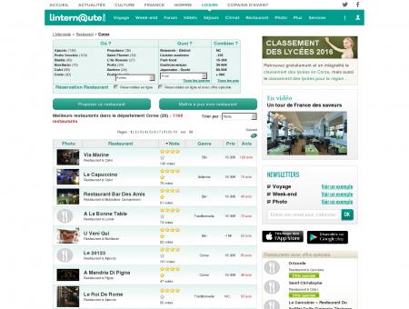 Restaurant Corse : Le guide des meilleurs...