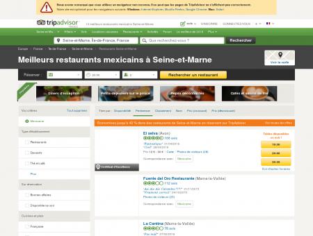 Les 5 meilleurs restaurants mexicains Seine-et...