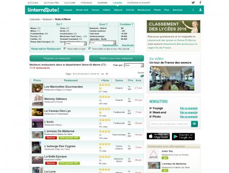 Restaurant Seine-et-marne : Le guide des...