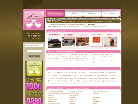 restaurant pyr�n�es-orientales
