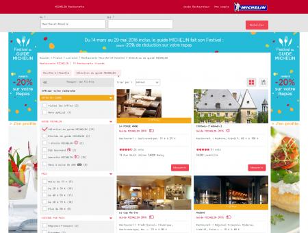 Restaurants MICHELIN Meurthe-et-Moselle :...