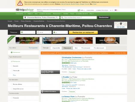 Les 10 meilleurs restaurants à Charente...