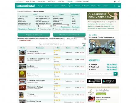 Restaurant Charente-maritime : Le guide des...
