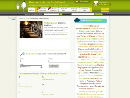 Restaurant en Charente-Maritime (17) - Liste...