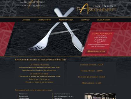 Restaurant 82 - LES RELAIS D ALSACE :...