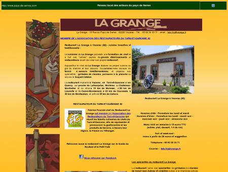 Restaurant La Grange Vazerac - en Tarn-et...