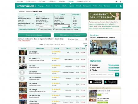 Restaurant Pas-de-calais : Le guide des...