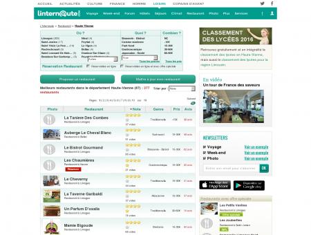 Restaurant Haute-vienne : Le guide des...