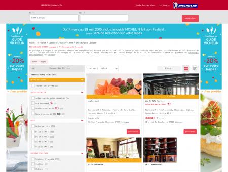 Restaurants 87000 Limoges - MICHELIN...