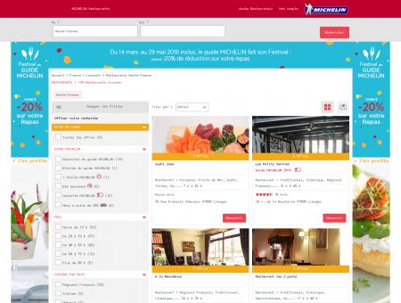Restaurants Haute-Vienne - MICHELIN...