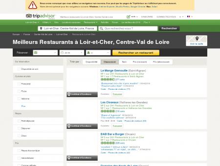 Les 10 meilleurs restaurants à Loir-et-Cher -...