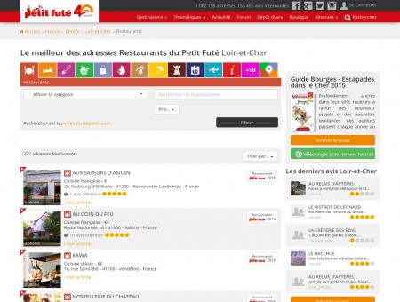 Restaurants Loir-et-Cher, le meilleur des...
