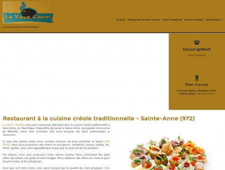Restaurant à la cuisine créole traditionnelle -...
