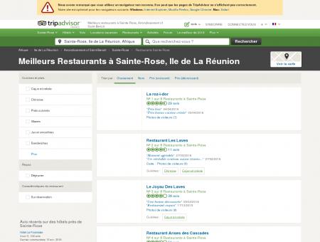 Les 5 meilleurs restaurants à Sainte-Rose -...