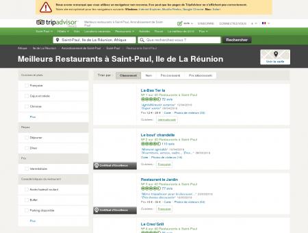 Les 10 meilleurs restaurants à Saint-Paul -...