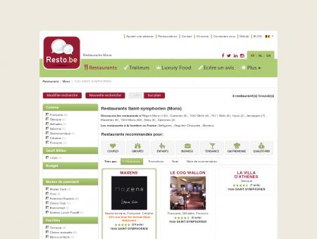 Restaurant Mons SAINT-SYMPHORIEN -...