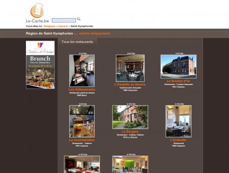 restaurants à Saint-Symphorien et environs -...
