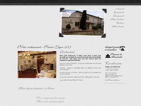 Restaurant / Restaurant 17 / LE RUSTICA »