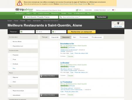 Les 10 meilleurs restaurants à Saint-Quentin -...
