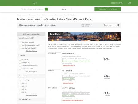 Les 10 meilleurs restaurants Quartier Latin -...