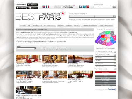 Restaurant Paris Saint-Michel / Quartier Latin...