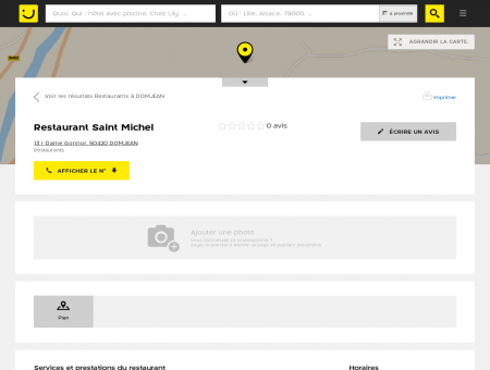 Restaurant Saint Michel Domjean (adresse,...