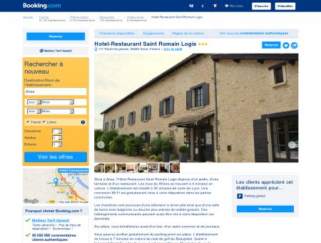 Hotel-Restaurant Saint Romain Logis hôtel 3...